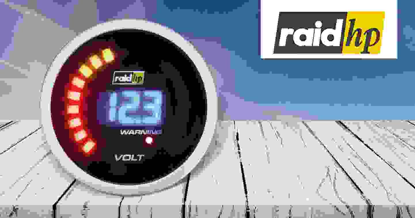 Raid hp - Voltmeter