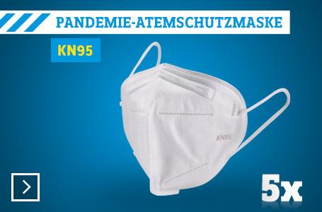 KN 95 Pandemie Atemschutzmaske 5er Pack