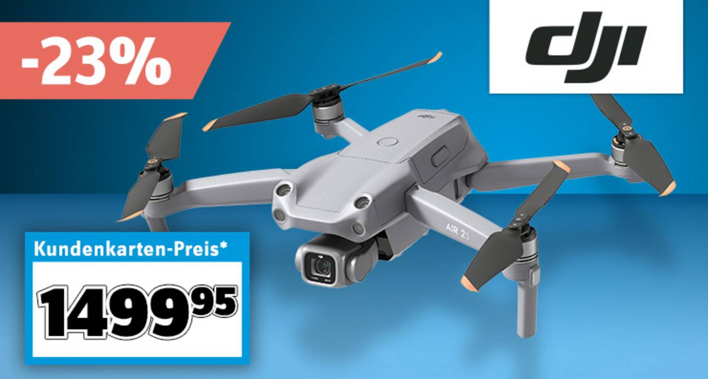 DJI - Air 2S Fly More Combo inkl. Smart Controller »