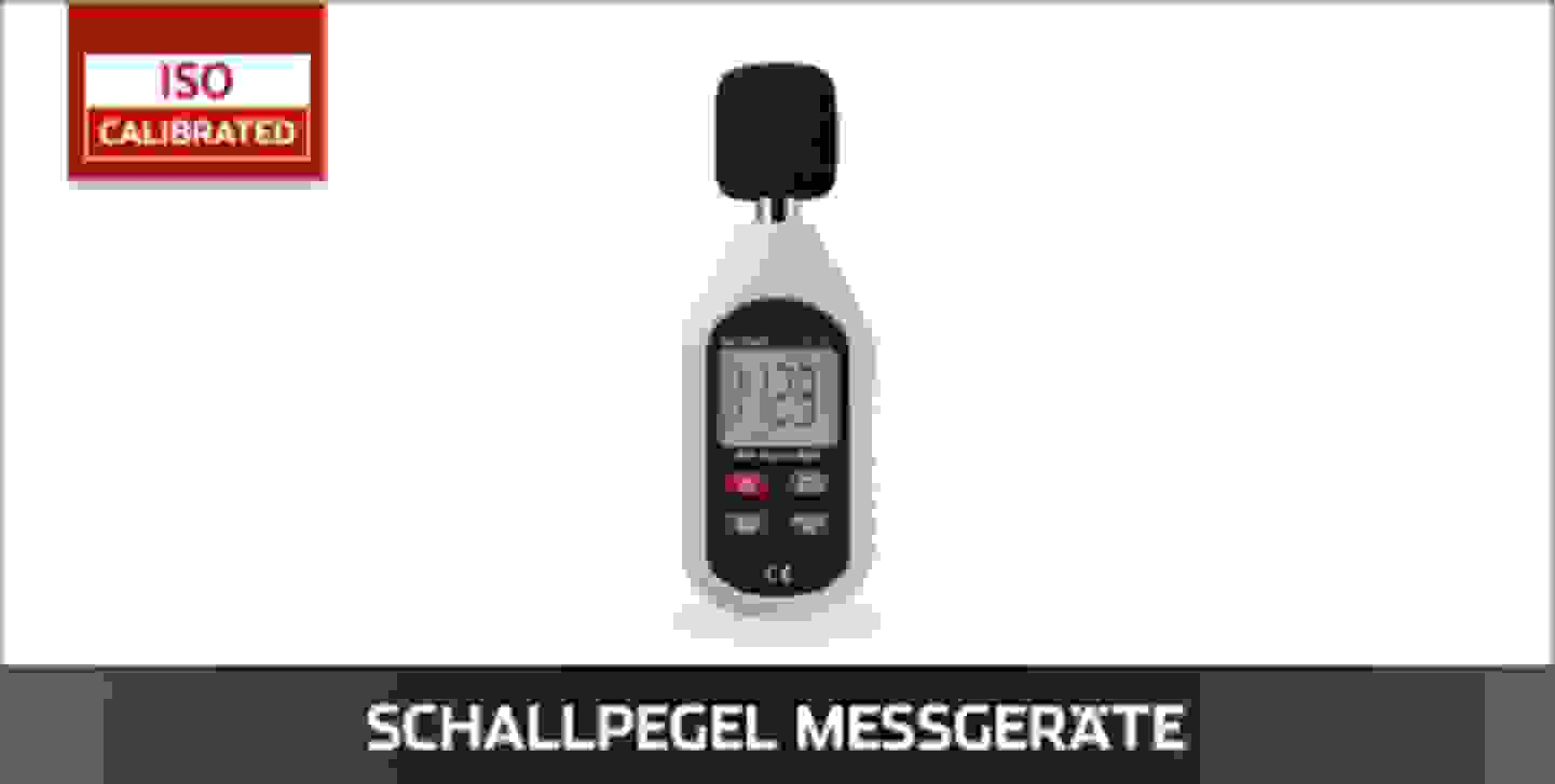 VOLTCRAFT Schallpegel Messgeräte ISO kalibriert