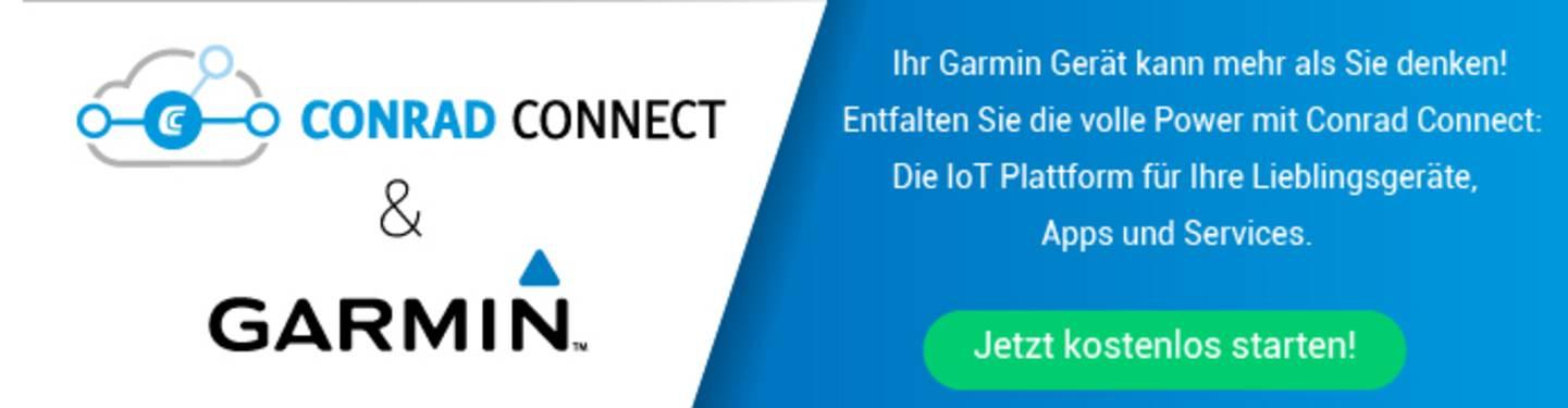 Conrad Connect & Garmin