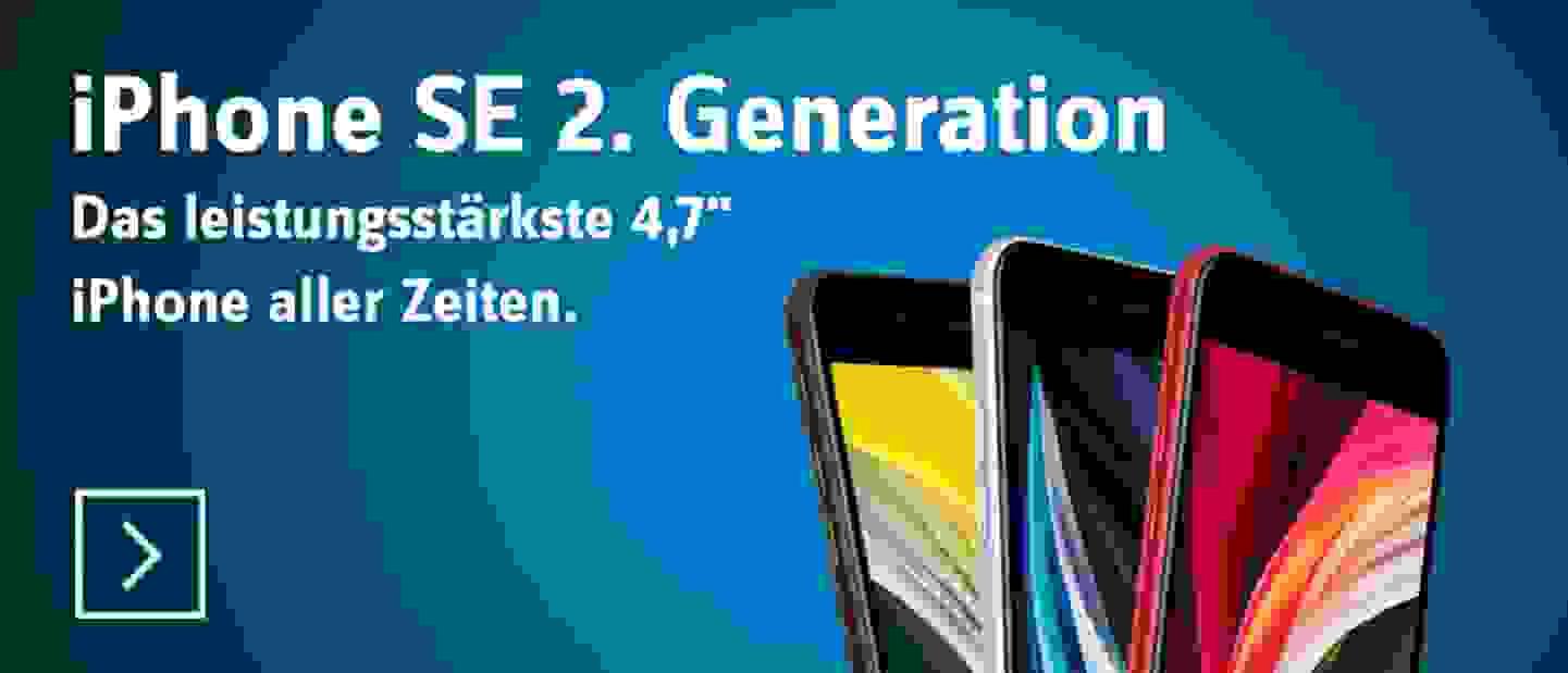 iPhone SE (2. Generation) - Jetzt entdecken