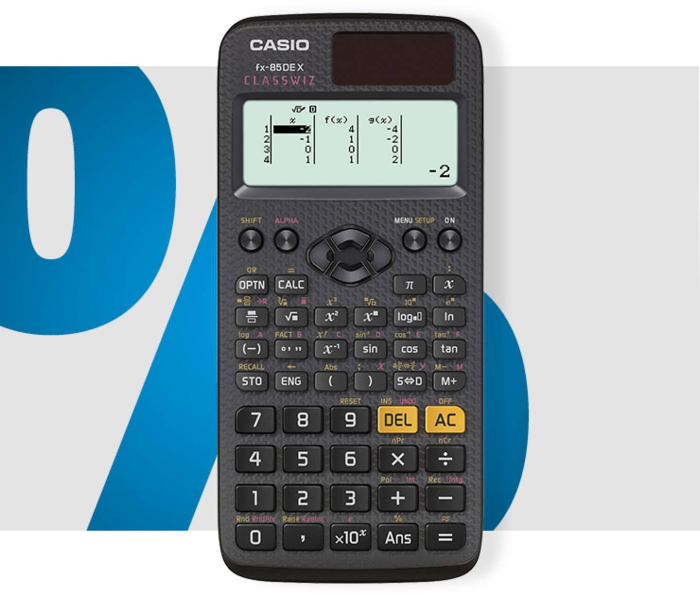 Casio - FX-85DEX Schulrechner »