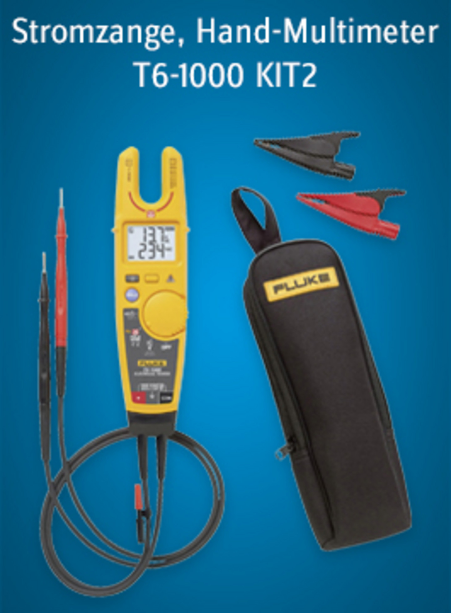 Fluke Stromzange Hand-Multimeter