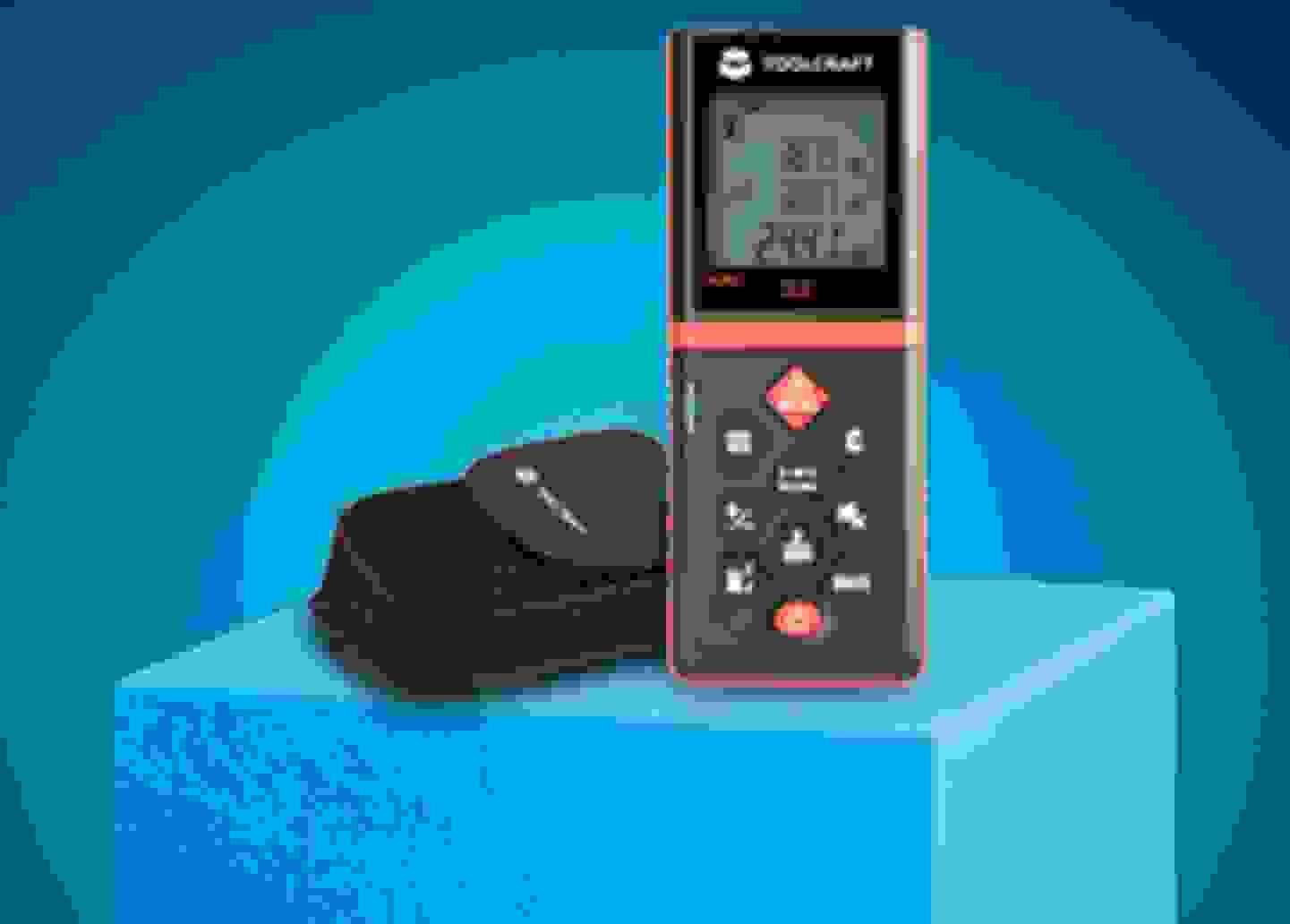 Toolcraft - Laser Entfernungsmesser »