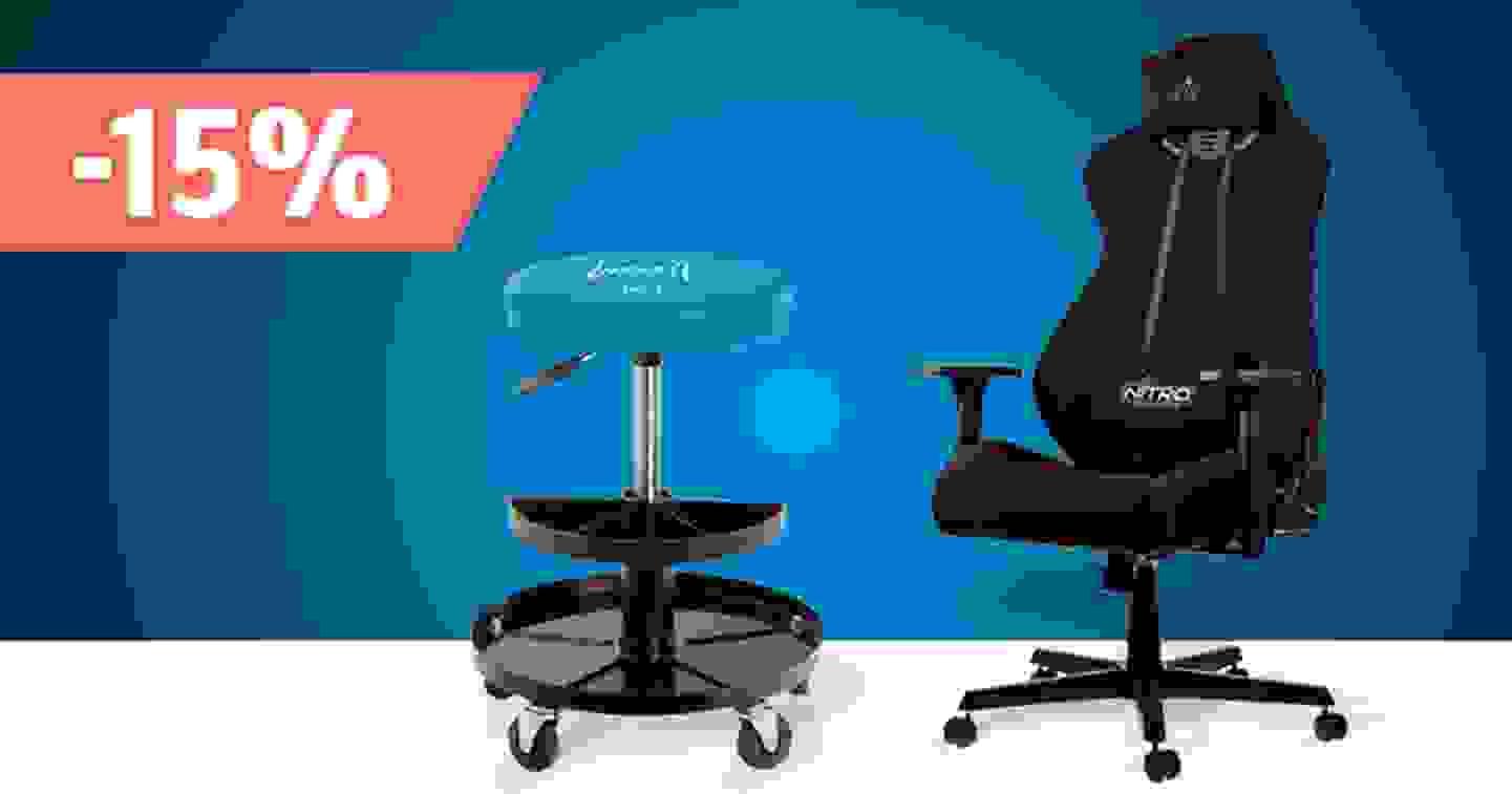 Arbeits- und Gaming-Stühle – Sortiment jetzt entdecken und profitieren »