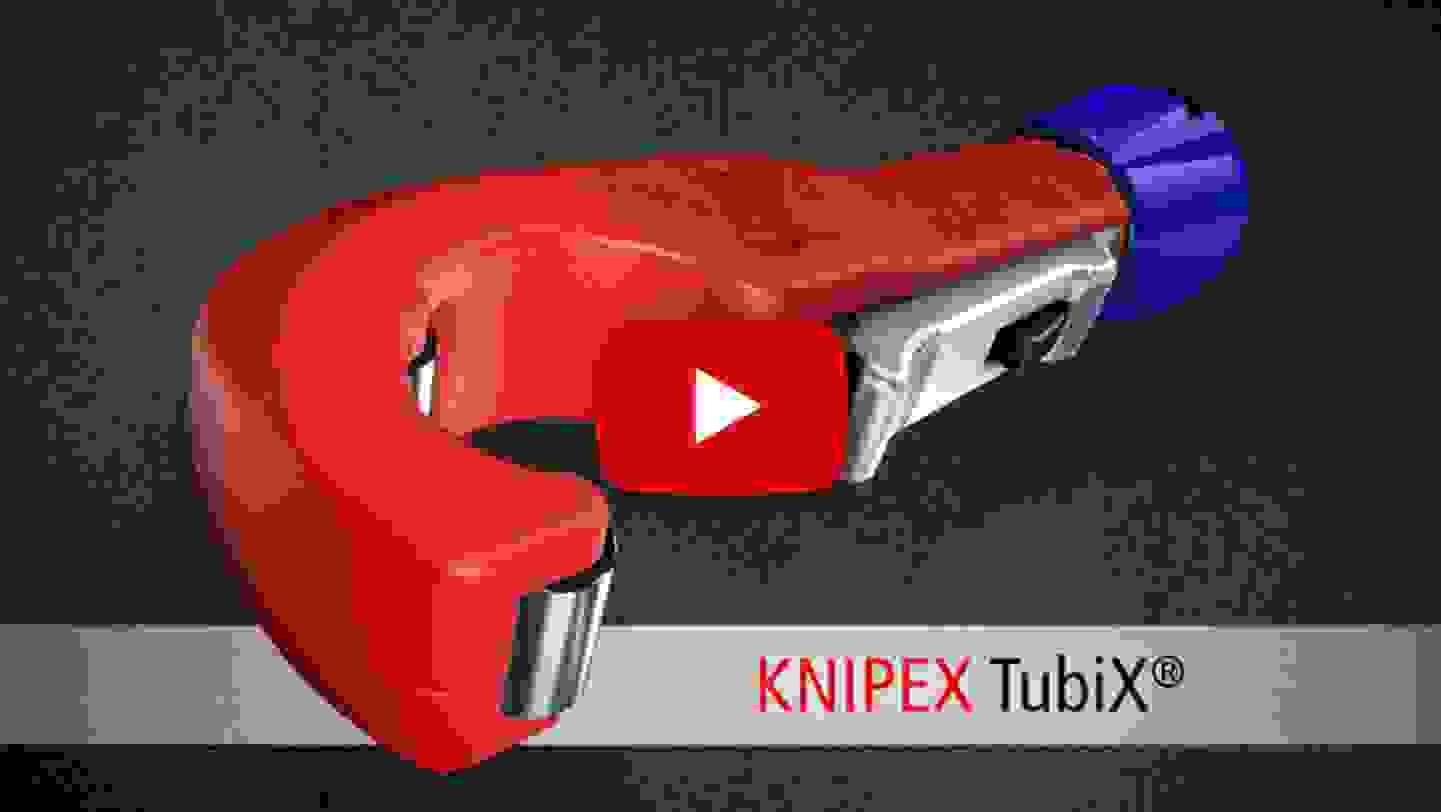 KNIPEX TubiX® Rohrabschneider