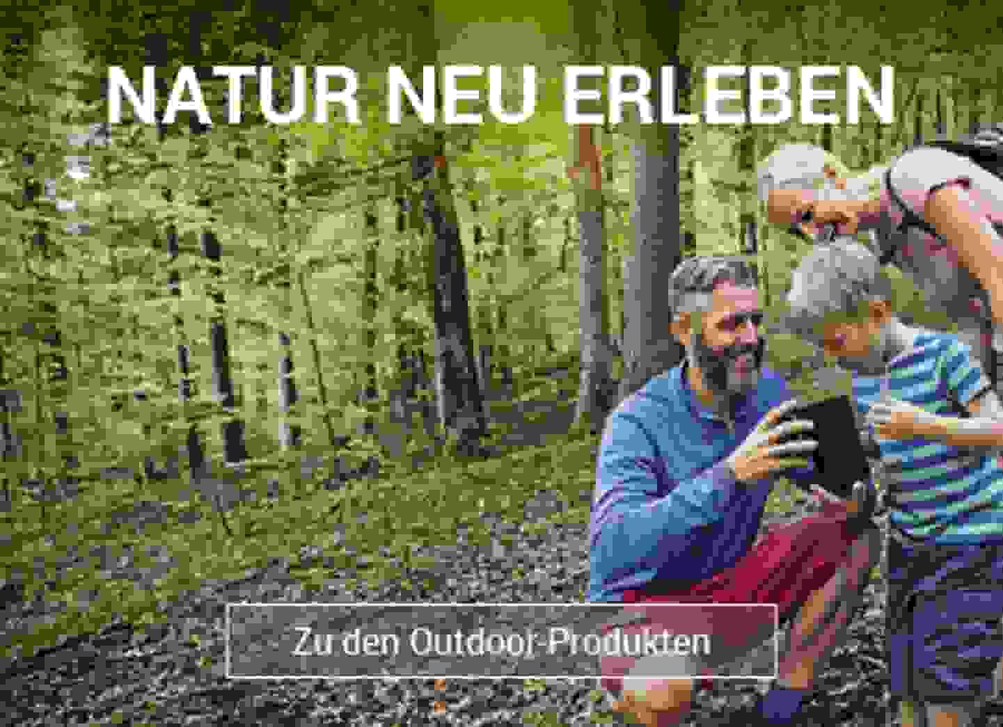 Natur neu erleben