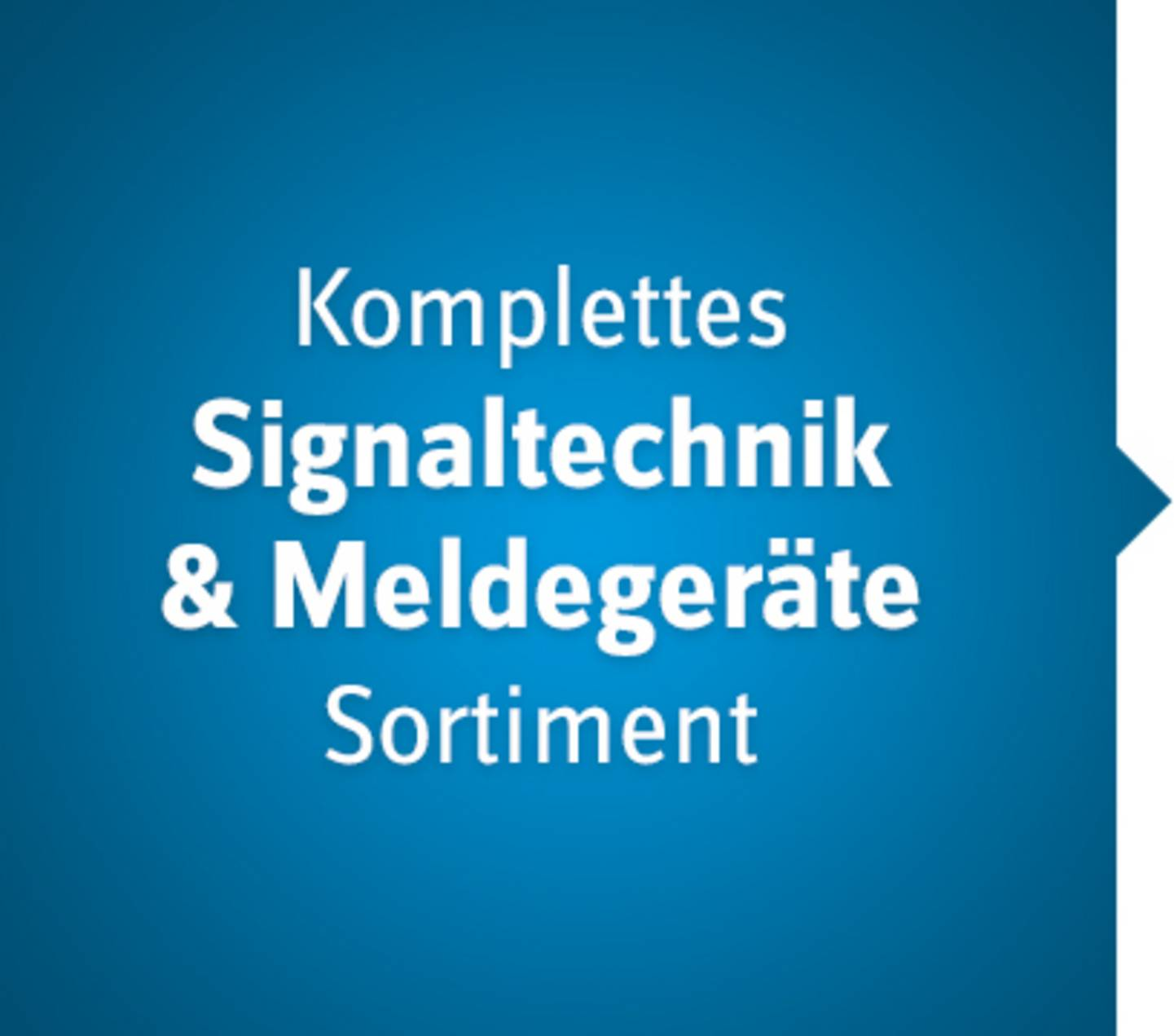 Signaltechnik Sortiment