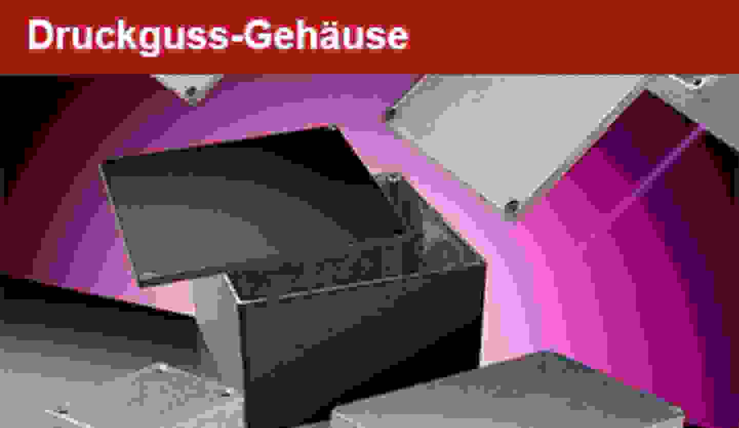 Druckguss-Gehäuse