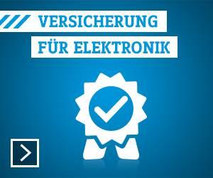Versicherung für Elektronik