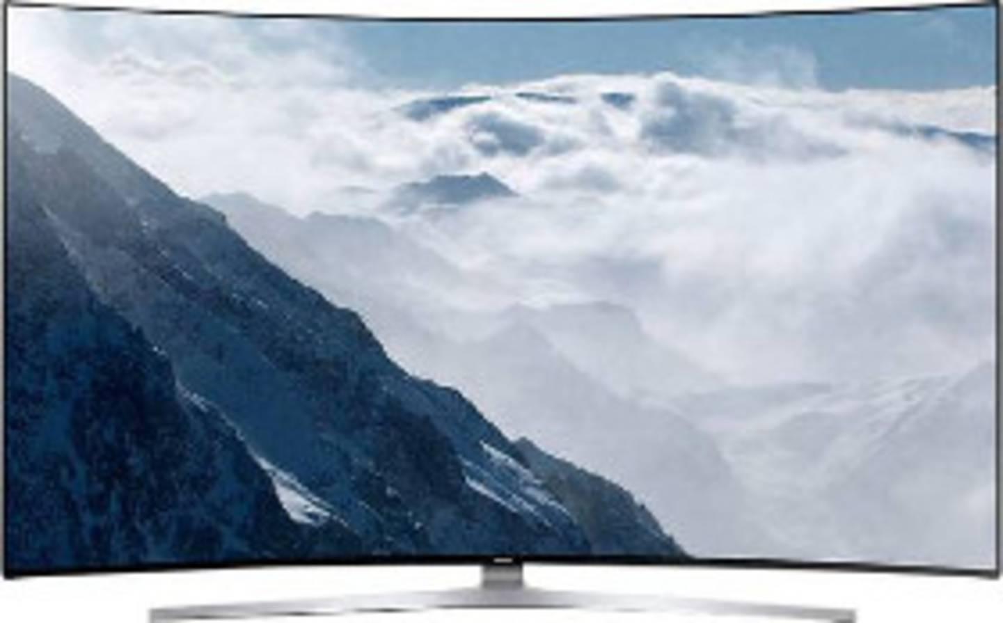 Curved Smart TV