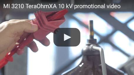 MI 3210 TeraOhmXA 10 kV promotional video