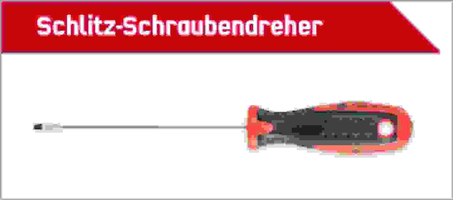 TOOLCRAFT Schlitz Schraubendreher