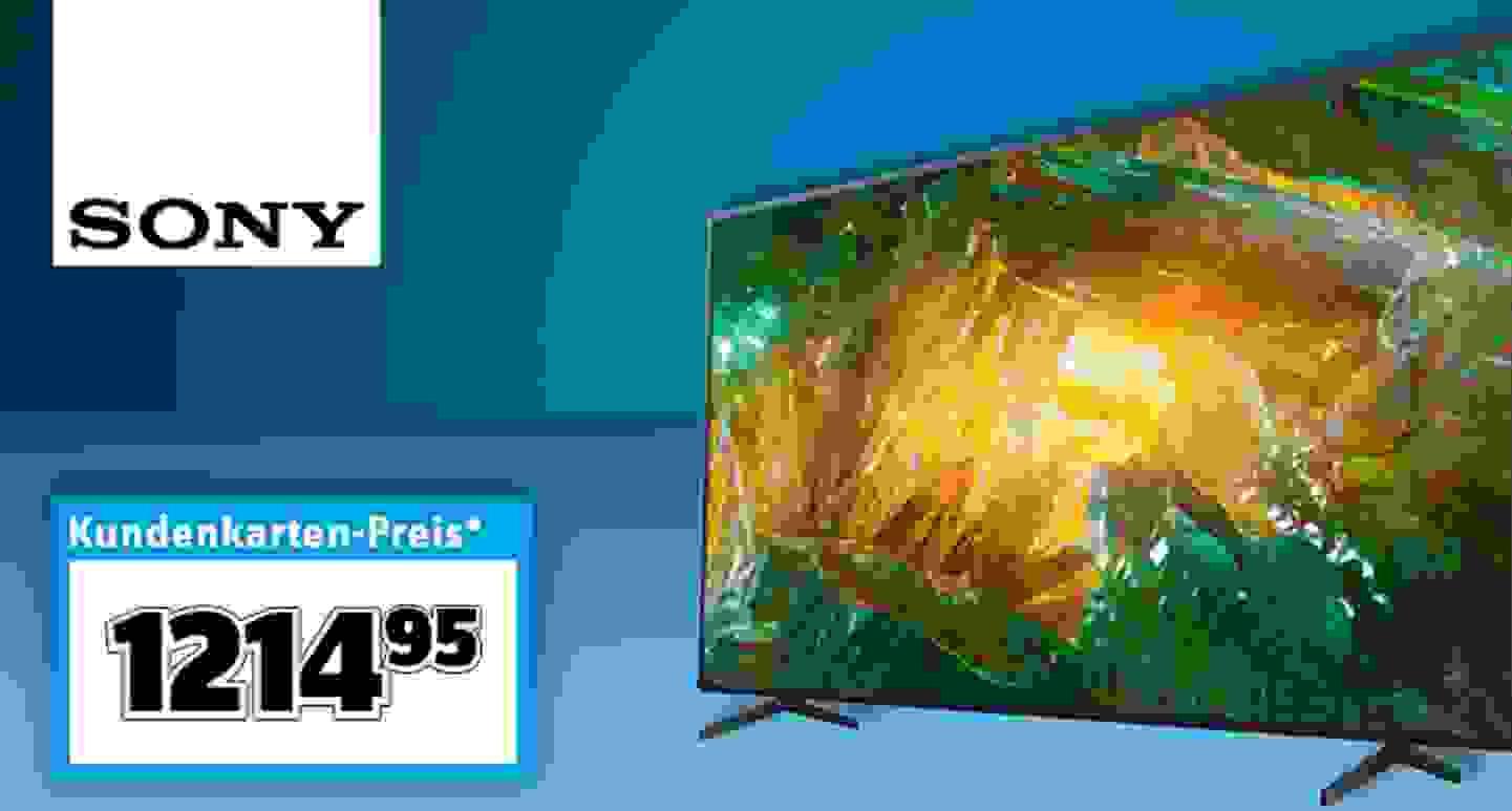 Sony - LED Smart TV Schwarz »
