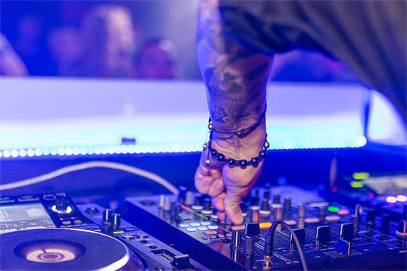 DJ Controller Anwendung