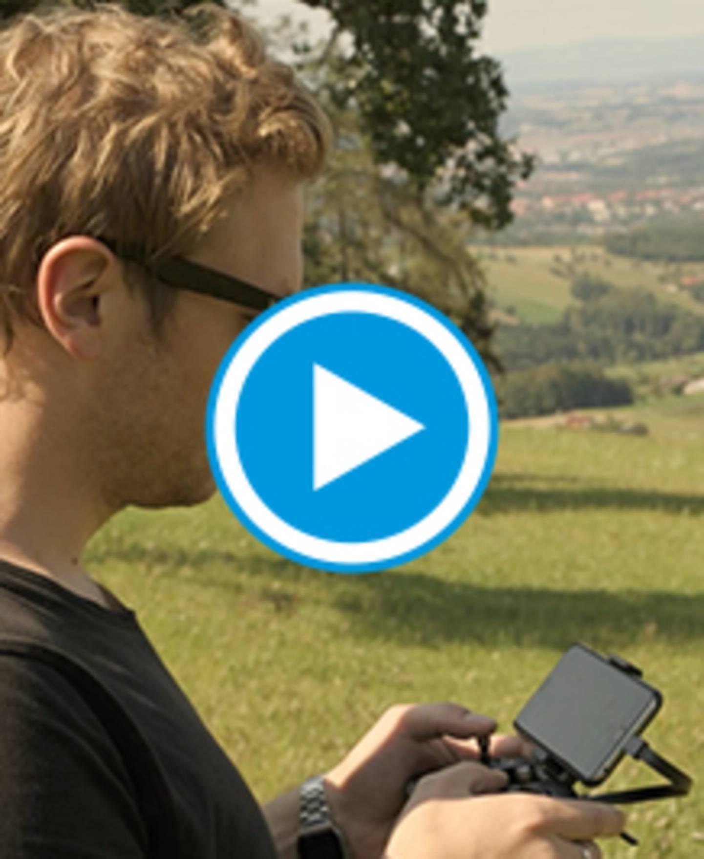 MantisQ - faltbare Kameradrohne - Video Sprachsteuerung