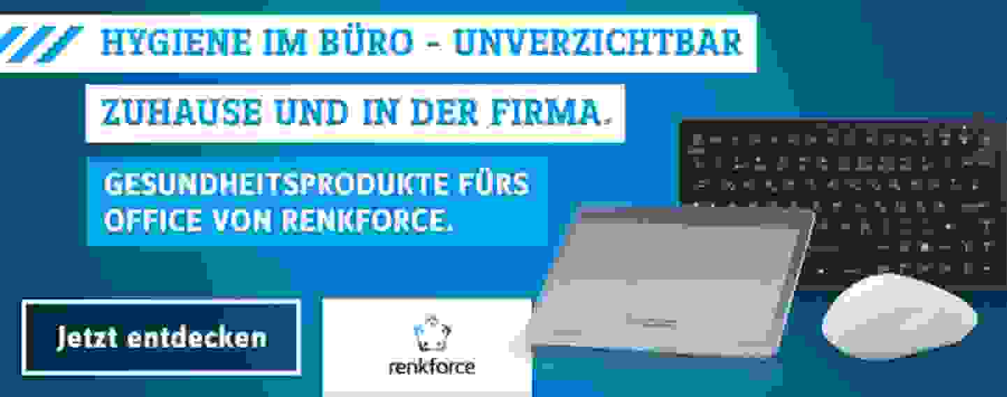 Home Office-Produkte von Renkforce