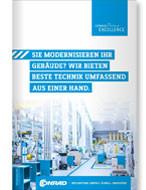 Gebäudetechnik-Flyer