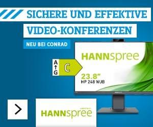 Hannspree LED-Monitor