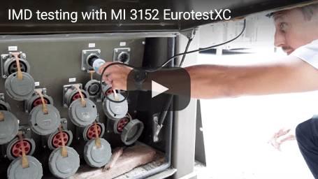 IMD testing with MI 3152 EurotestXC