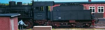 Echte Kohle für den Modell-Loktender