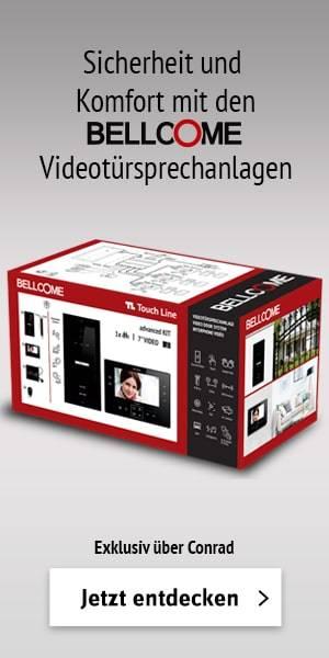 Bellcome Video-Türsprechanlage