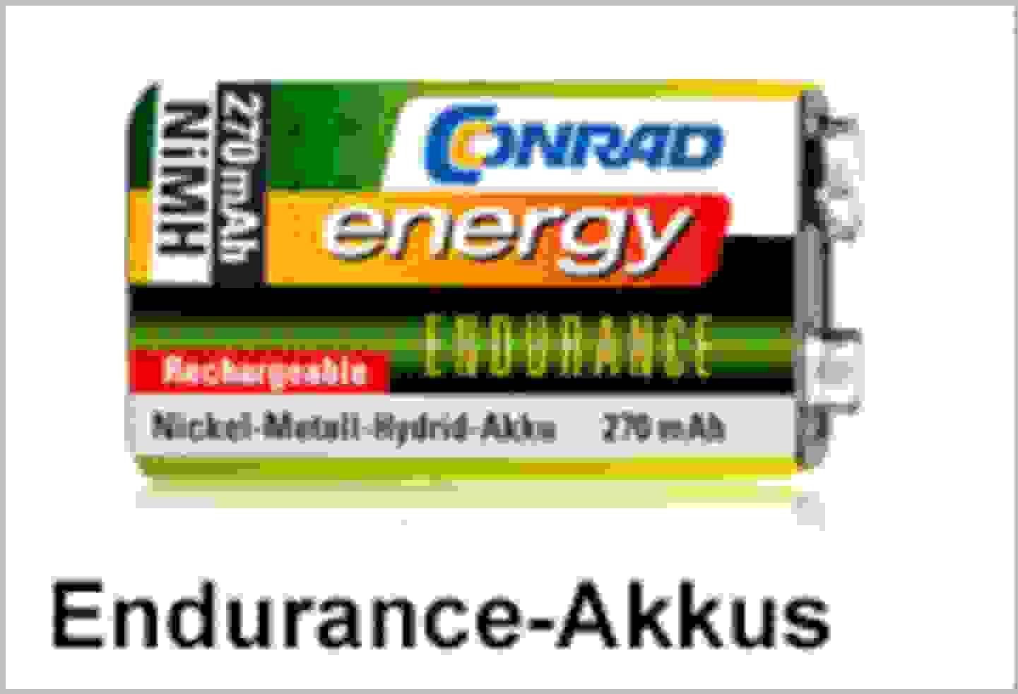 Conrad Energy Endurance-Akkus