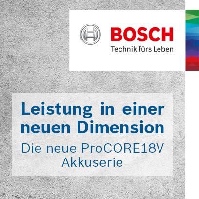Bosch ProCORE18V Akkuserie