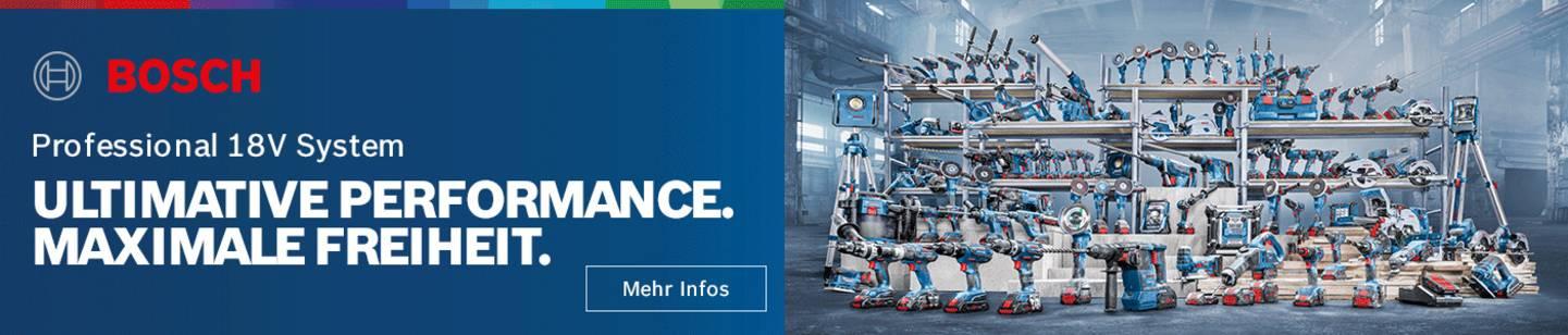 Bosch Professional 18V System