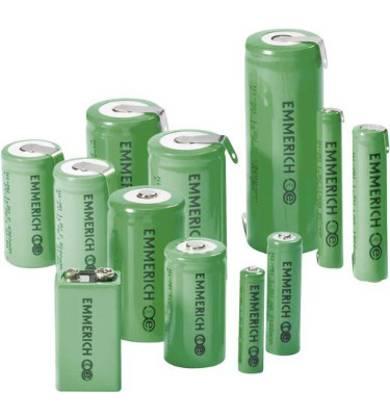 Verschiedene Spezialgrößen: AAA-Batterie, AA-Batterie, 9V Batterie, Mono C & Mono D Batterie