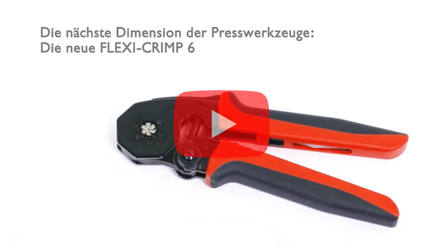 Cimco Aderendhülsen-Presszange FLEXI-CRIMP 6