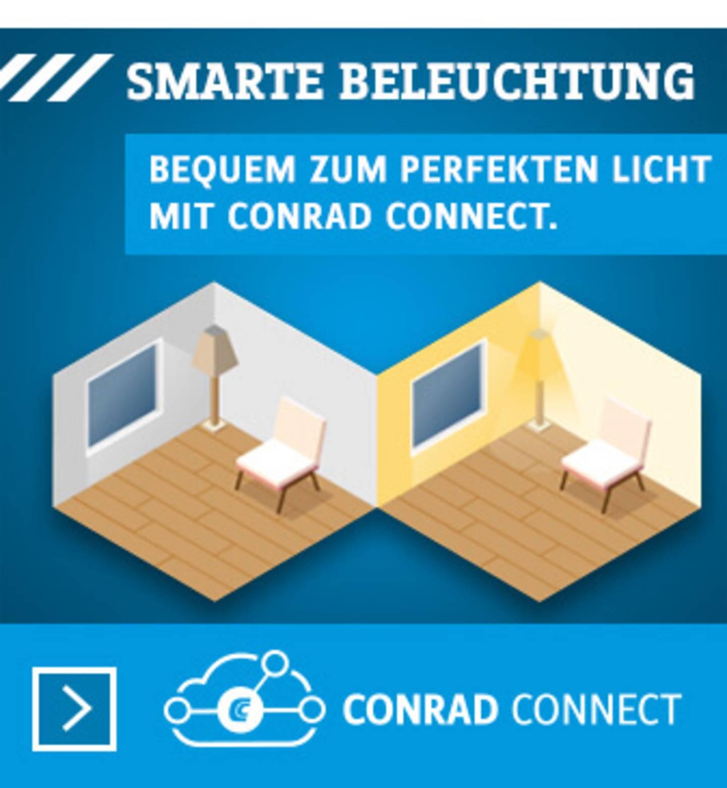 Conrad Connect: Smarte Beleuchtung