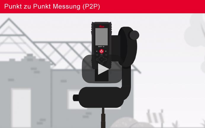 Leica DISTO™ X4 Punkt-zu-Punkt-Messung – Deutscher Sprecher