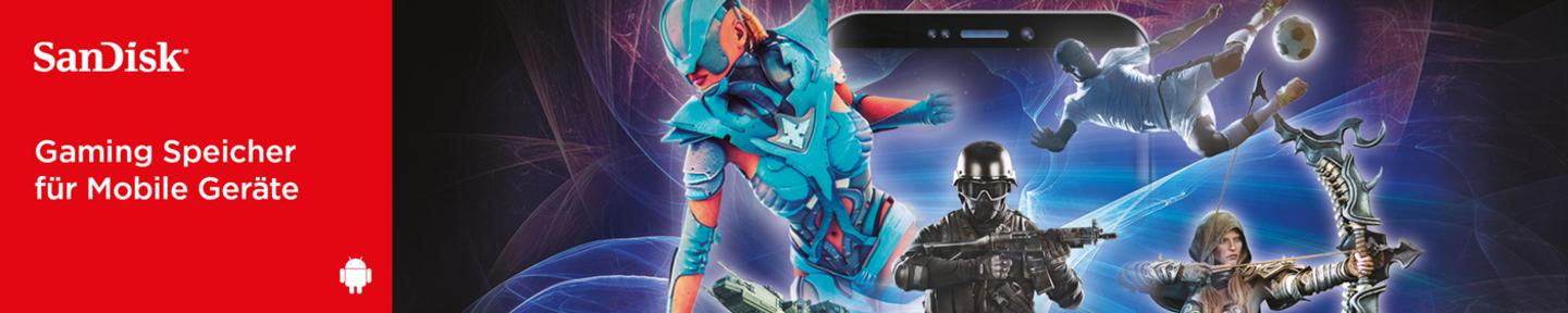 Sandisk Gaming  Speicher für Mobile Geräte