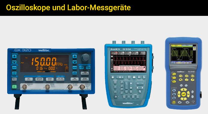 Oszilloskope und Labor-Messgeräte