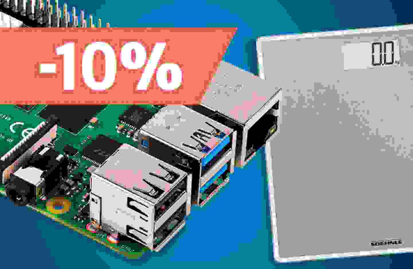 Aktion: 10% Rabatt auf alle Einplatinencomputer und Personenwaagen »