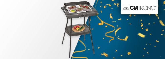 Clatronic Stand Elektro-Grill