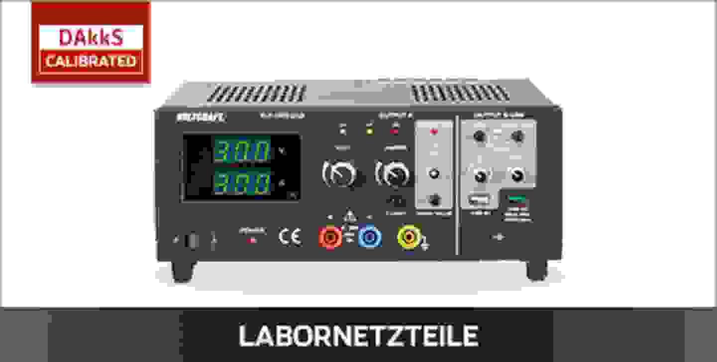 VOLTCRAFT Labornetzteile DAkkS kalibriert