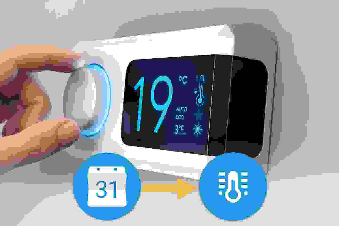 Automatische Heizungssteuerung mit Conrad Connect