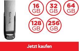 SanDisk Ultra® Flair™ USB 3.0 Flash-Laufwerk