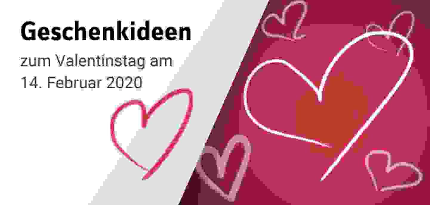 Geschenkideen zum Valentinstag »