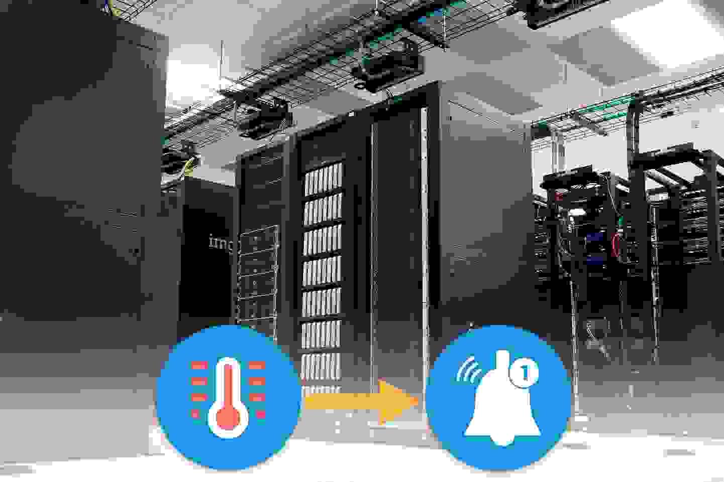 Serverraum-Überwachung mit Conrad Connect