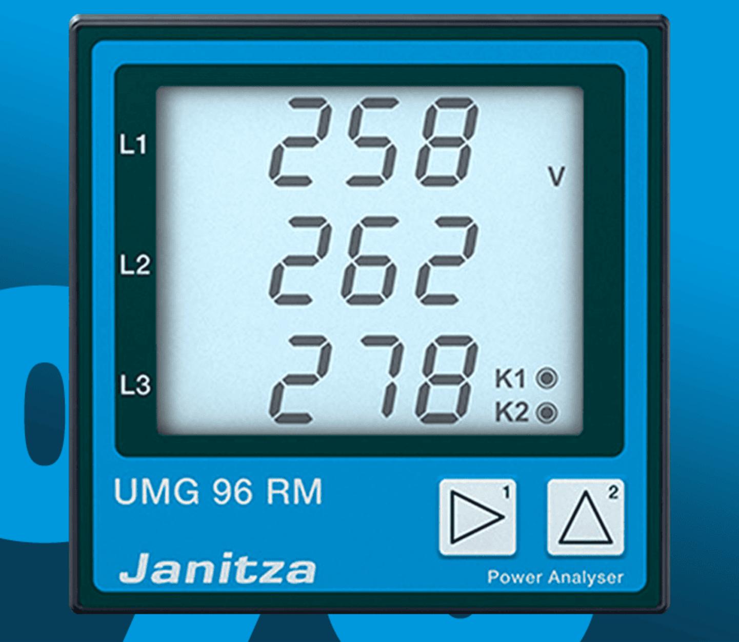 Janitza - Universalmessgerät Spannung