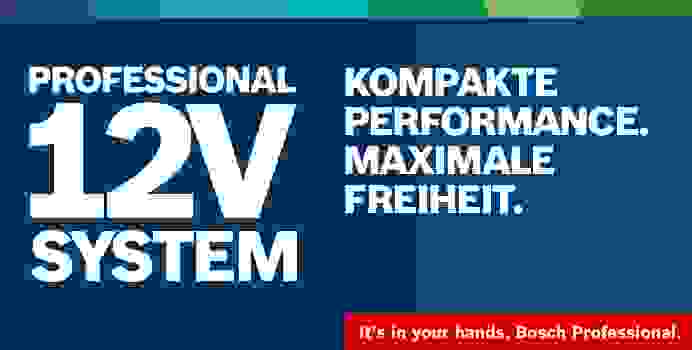 Das Bosch Professional 12V System