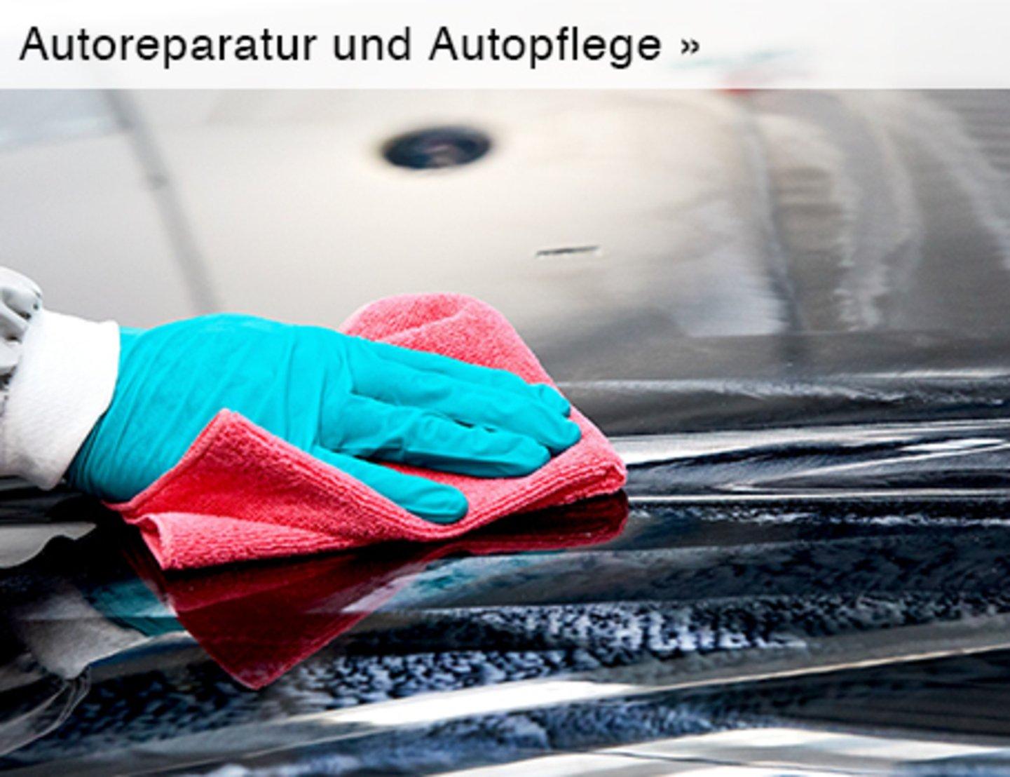 Autoreparatur und Autopflege