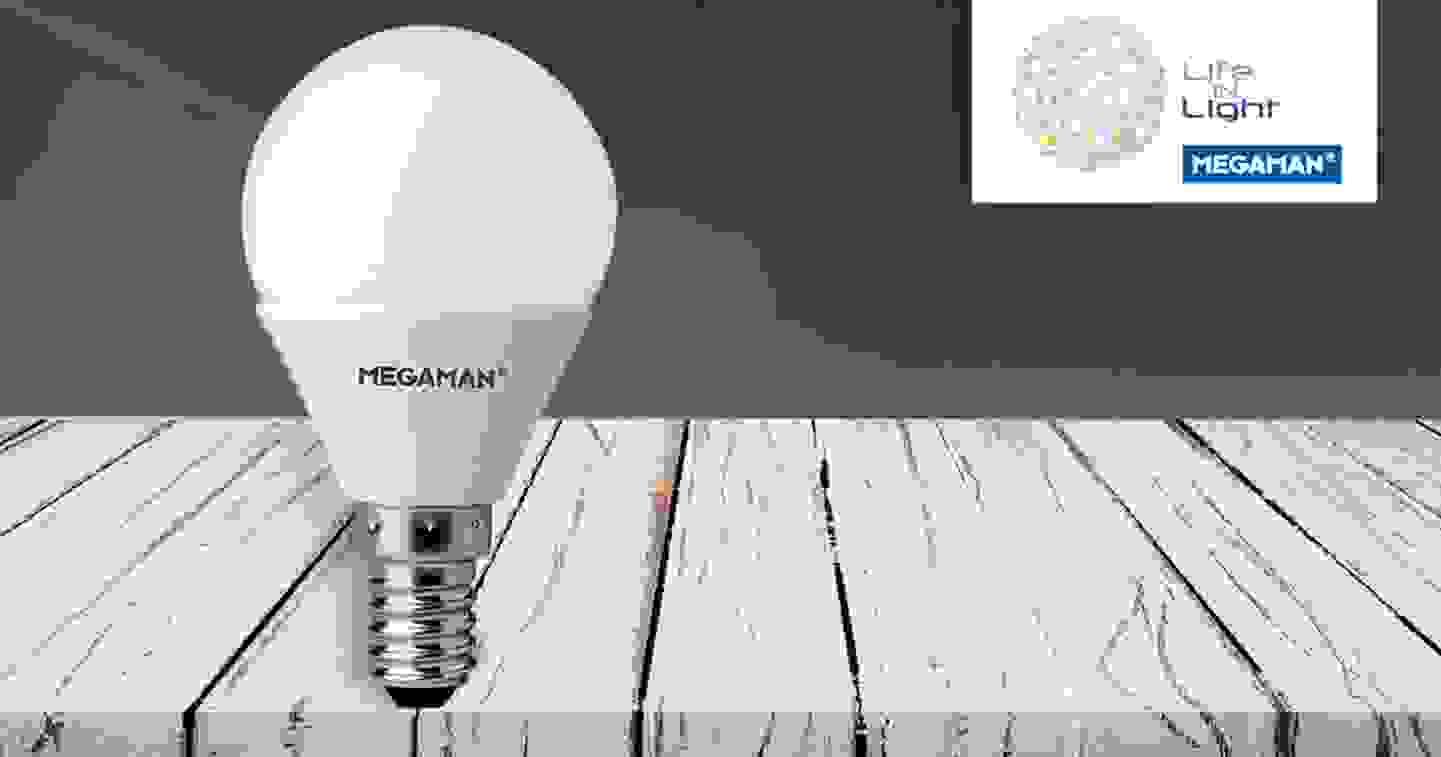 Megaman - Ampoule LED type goutte