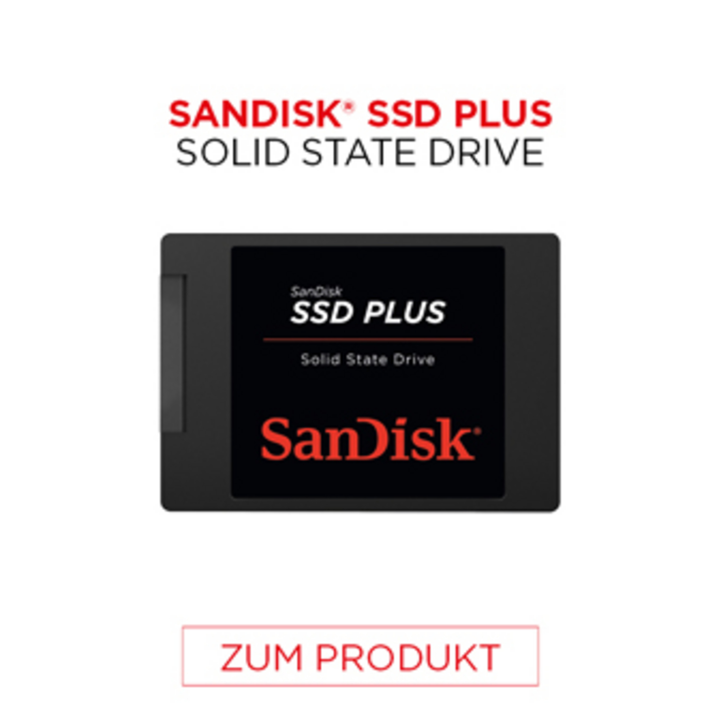 Sandisk SSD Plus Solid State Drive