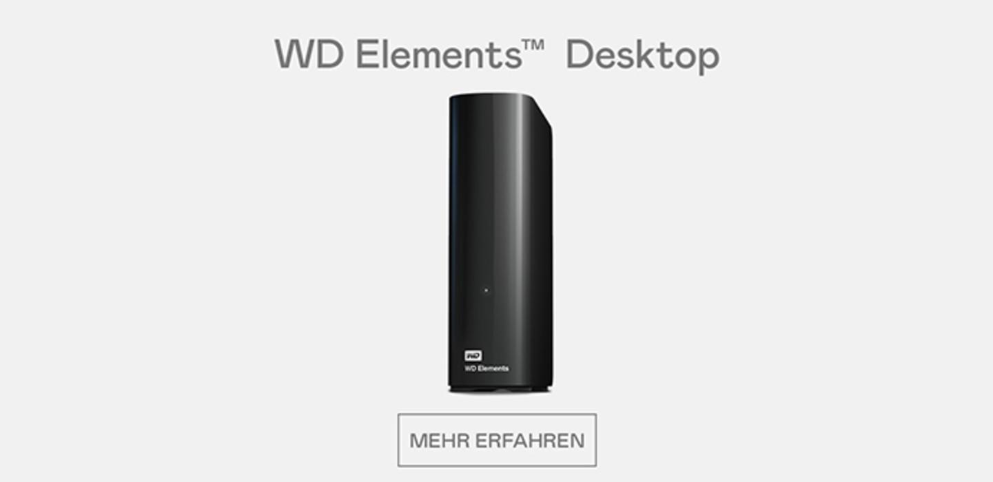 WD Elements Desktop