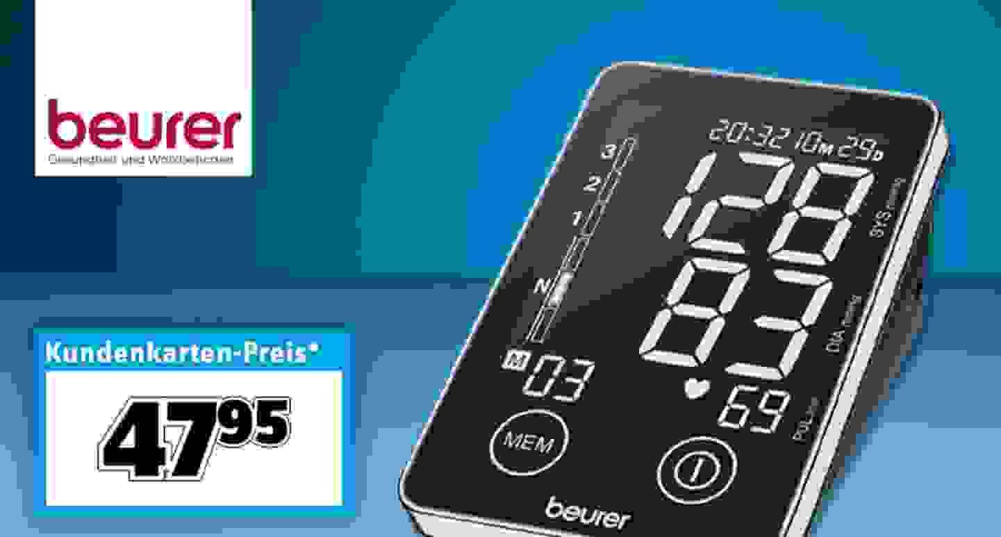 Beurer - Oberarm Blutdruckmessgerät »